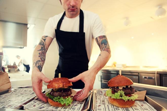Hambúrguer em Amsterdam: De Butcher