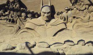 Festival de Esculturas na Areia na Holanda: Hollywood feita de areia