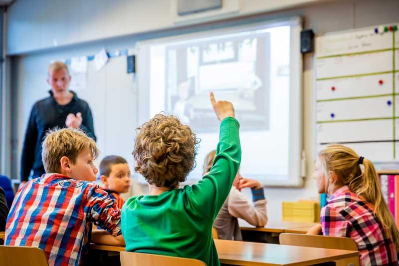 Escola primária / ensino fundamental na Holanda