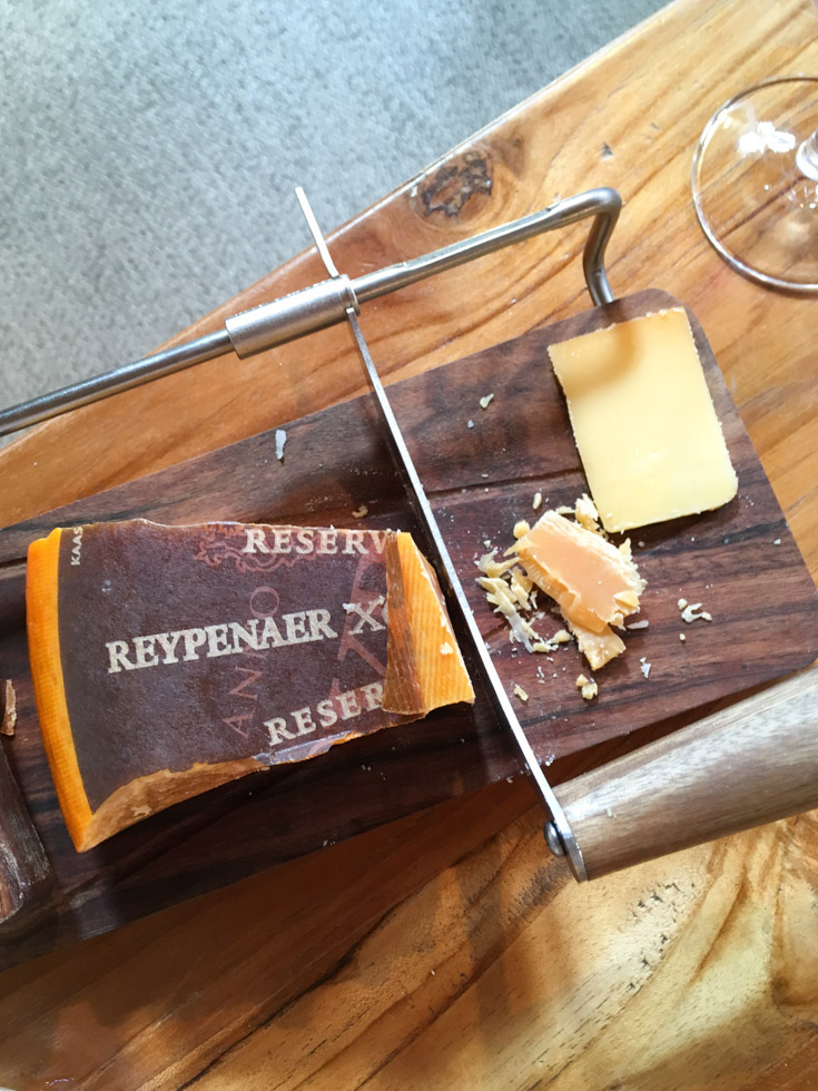 Casa de queijos típicos holandeses Reypenaer em Amsterdam
