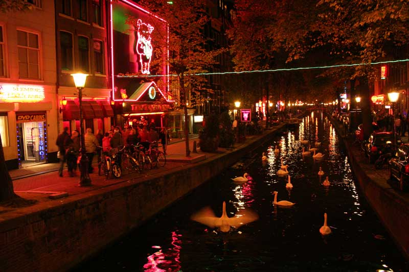 Red Light District em Amsterdam