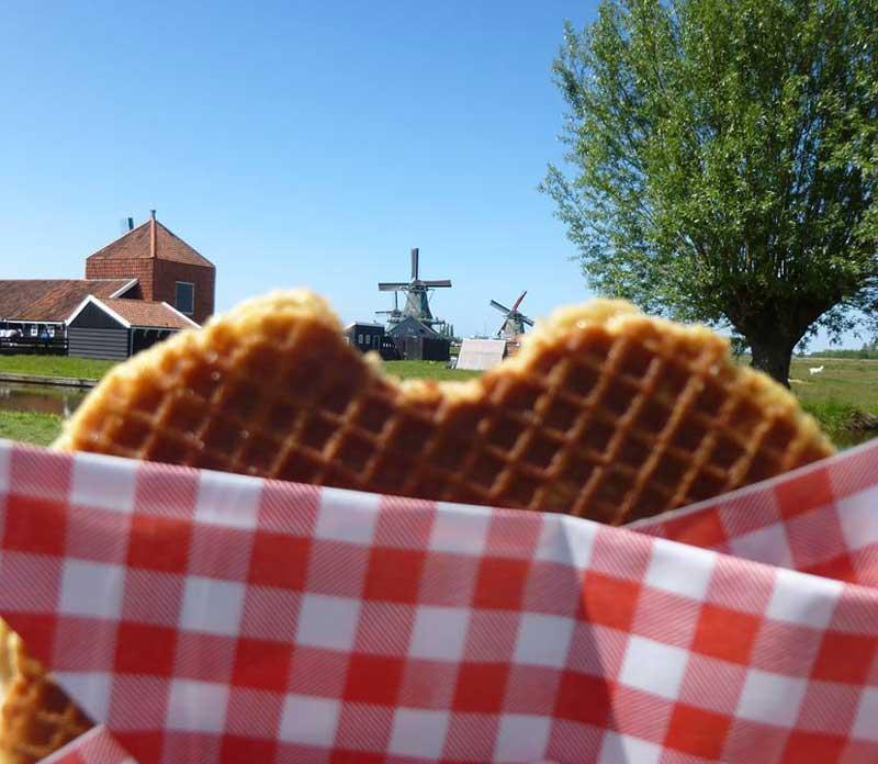 Stroopwafel holandês