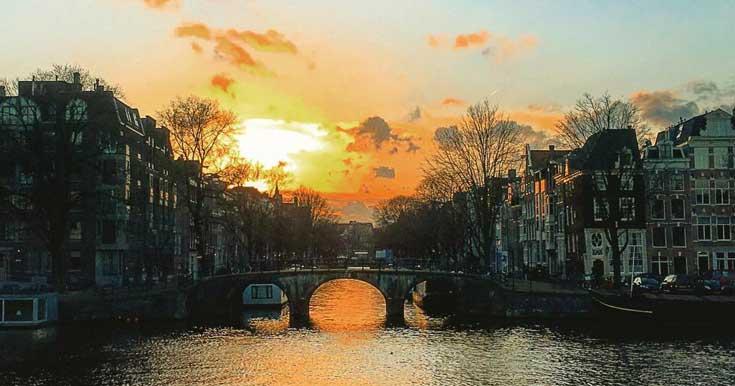 Verão em Amsterdam