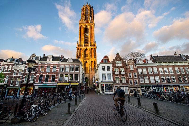 Cidades para visitar perto de Amsterdam: Utrecht