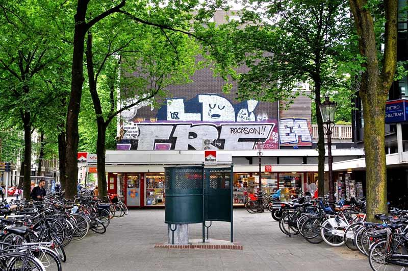 Mictorio público em Amsterdam