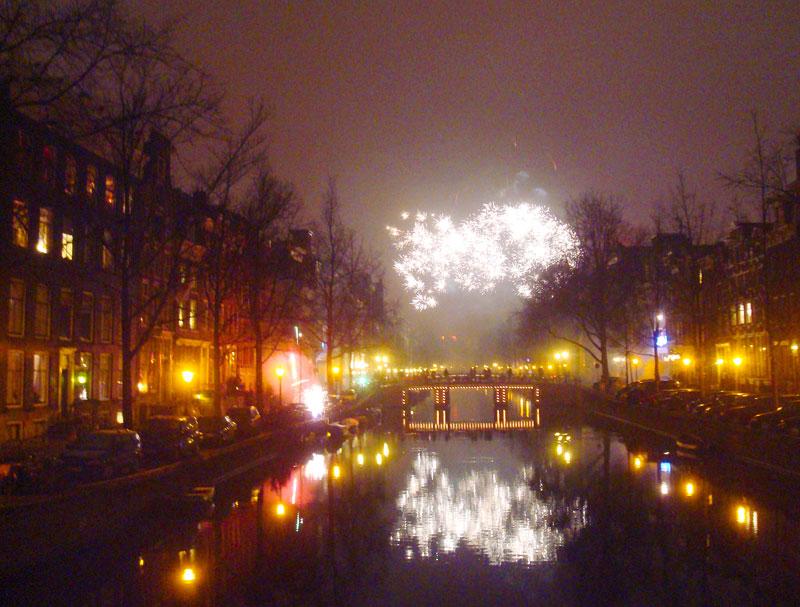 Virada de ano em Amsterdam