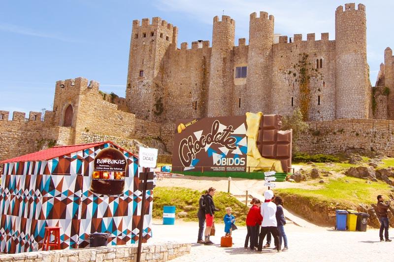 Nham! Festival do Chocolate de Óbidos (Foto: © by Cultuga)