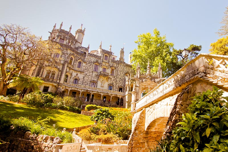 A enigmática e misteriosa Quinta da Regaleira (Foto: © by Cultuga)