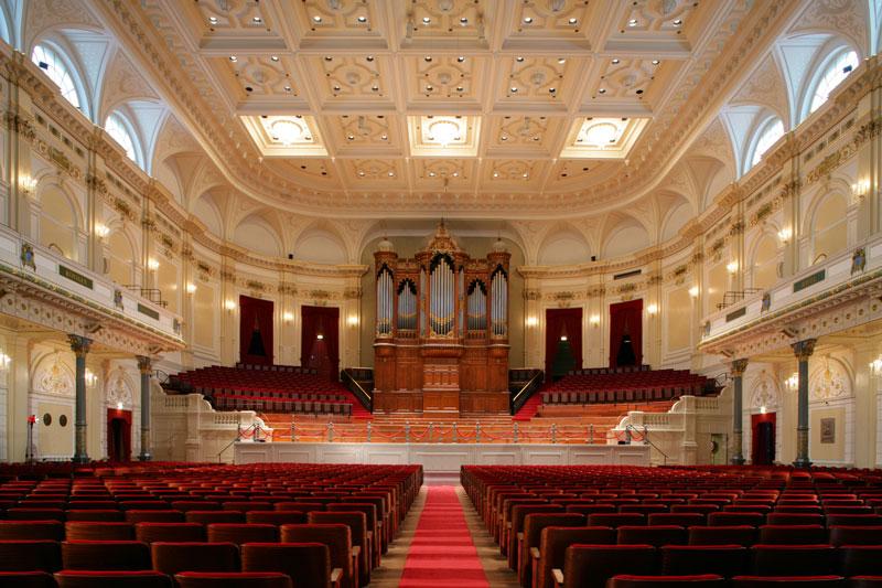 Concertgebouw em Amsterdam: programa de dezembro