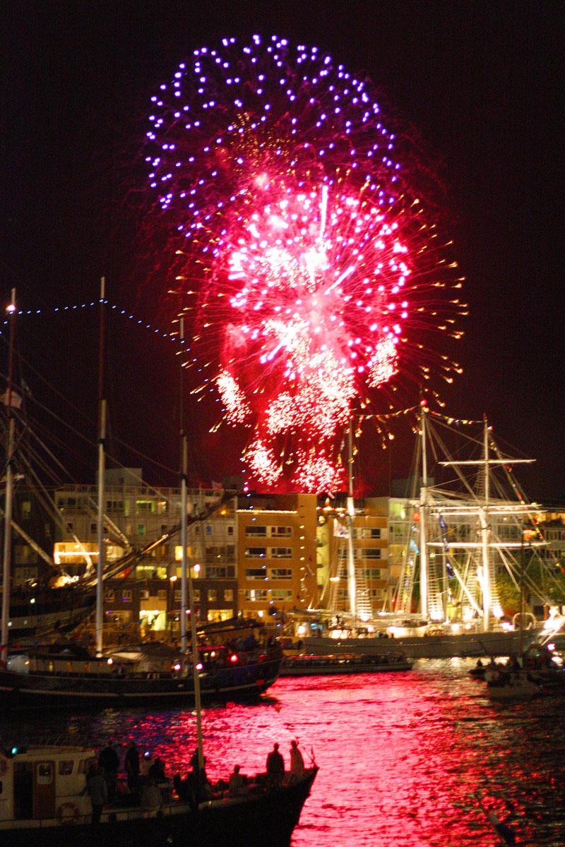 Virada do Ano em Amsterdam