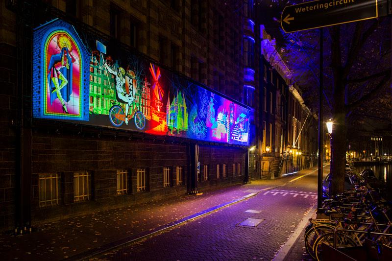 Festival das Luzes de Amsterdam