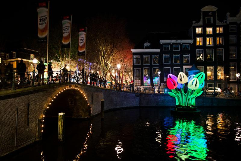 Eventos na Holanda: Festival das Luzes de Amsterdam