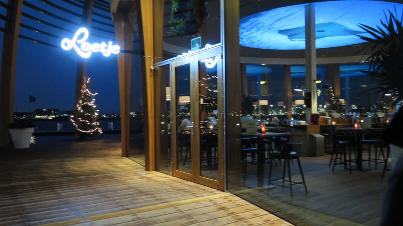 Onde passar o Natal e Ano novo em Amsterdam: Restaurante Loetje Aan 't IJ em Amsterdam