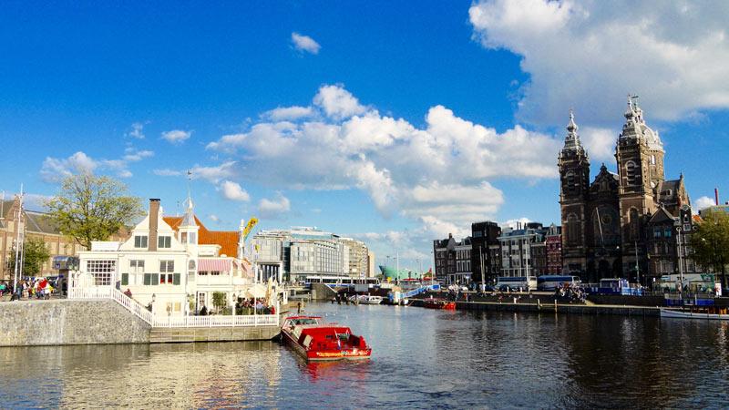 Onde passar o Natal e Ano novo em Amsterdam: Restaurante Loetje Centraal Amsterdam