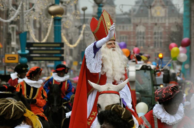 Festas na Holanda: Sinterklaas