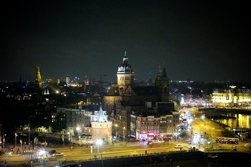 Onde passar o Natal e Ano novo em Amsterdam: Skylounge Amsterdam