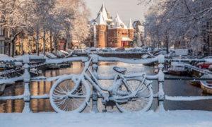 7 Dicas pra sobreviver (e curtir) na neve em Amsterdam