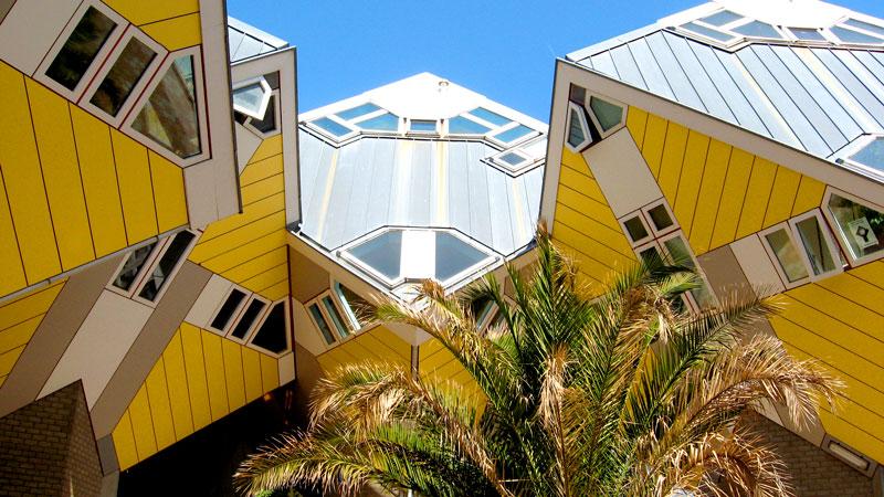 O que fazer em Rotterdam: casas cubo