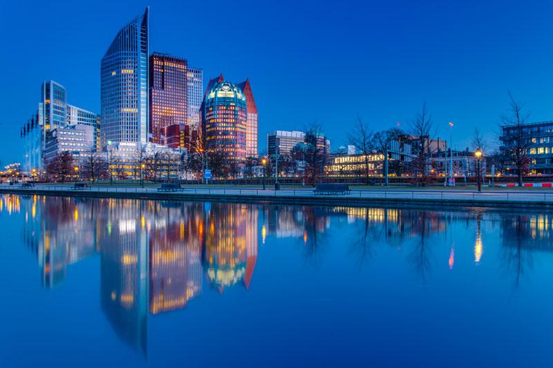 cidades para visitar perto de Amsterdam: Haia