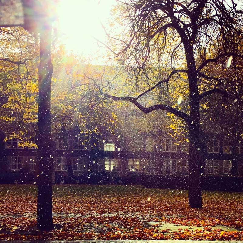 Clima em Amsterdam: chuva