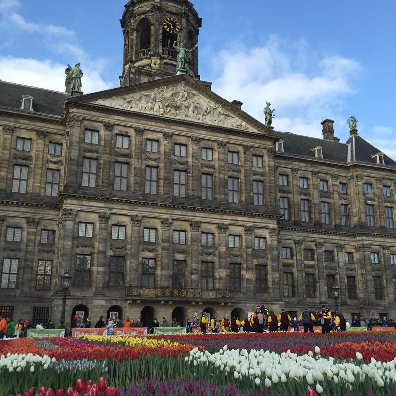 Dia Nacional da Tulipa em Amsterdam