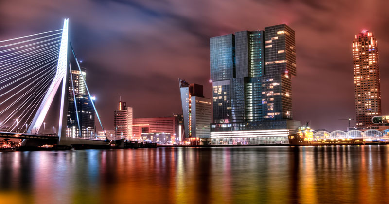 Cidades para visitar perto de Amsterdam: Rotterdam
