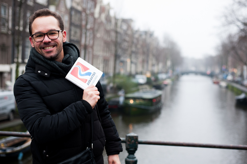 Tour de bicicleta em Amsterdam