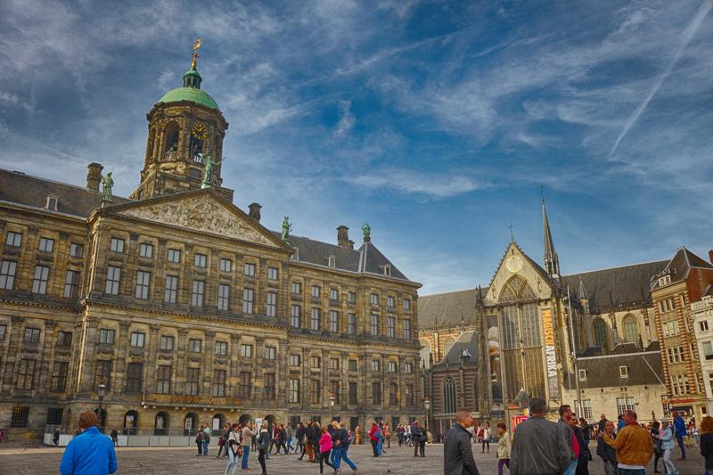 Pontos turísticos em Amsterdam: De Dam