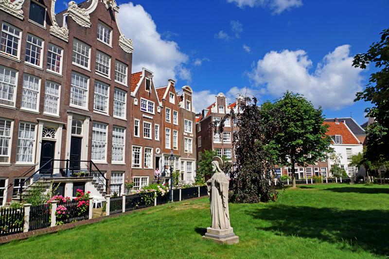 Principais turísticos em Amsterdam: Begijnhof