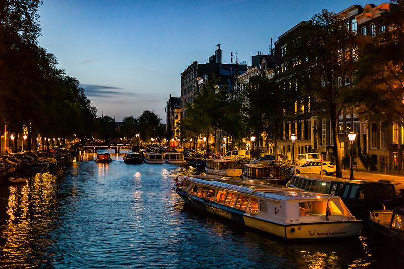 Pontos turísticos em Amsterdam: Canais no Jordaan