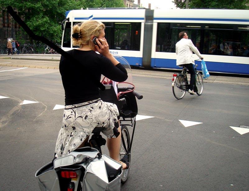 Regras de trânsito para bicicletas em Amsterdam