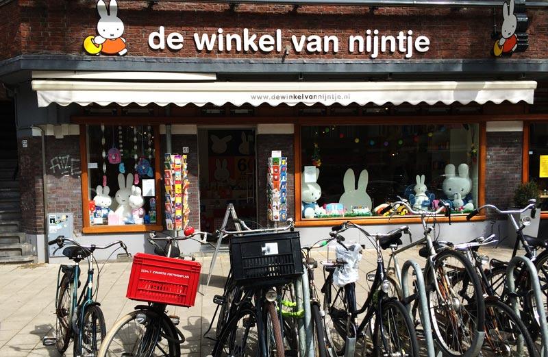 Loja da Nijntje em Amsterdam