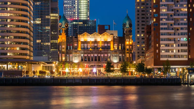 Rotterdam vale a pena? Hotel New York