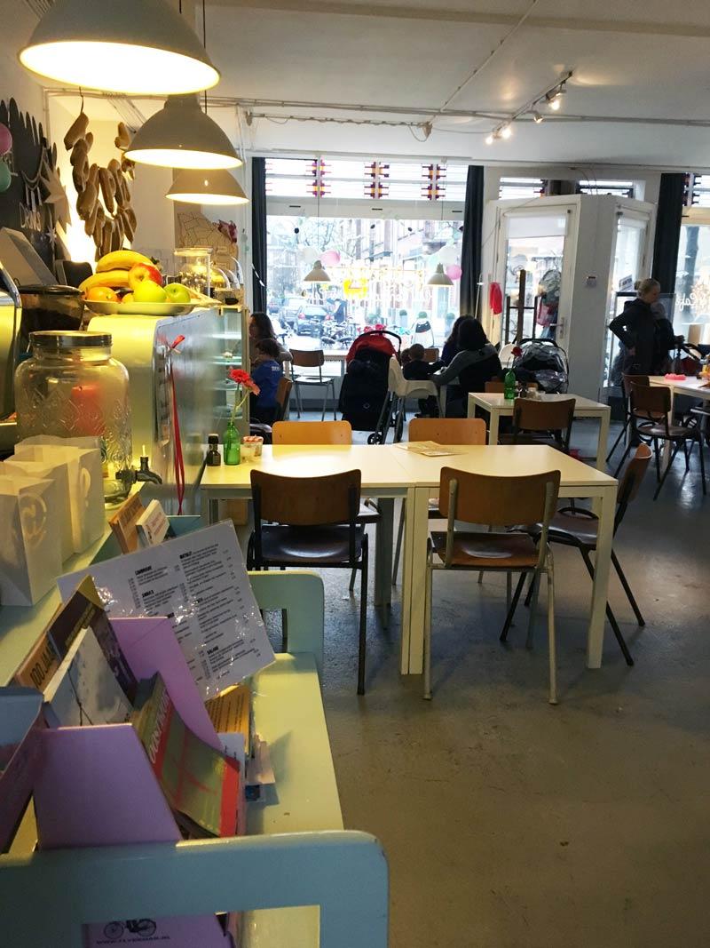 Dica de café em Amsterdam para crianças e pais: Blender