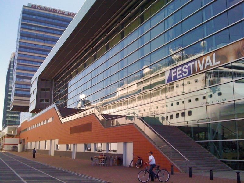 Festival em Amsterdam