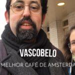 Nossa reunião de trabalho no melhor café de Amsterdam – Vlog Ducs Amsterdam #002