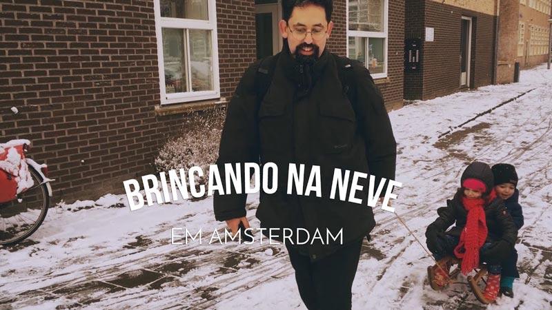 Vlog Ducs Amsterdam #004 - Neve em Amsterdam