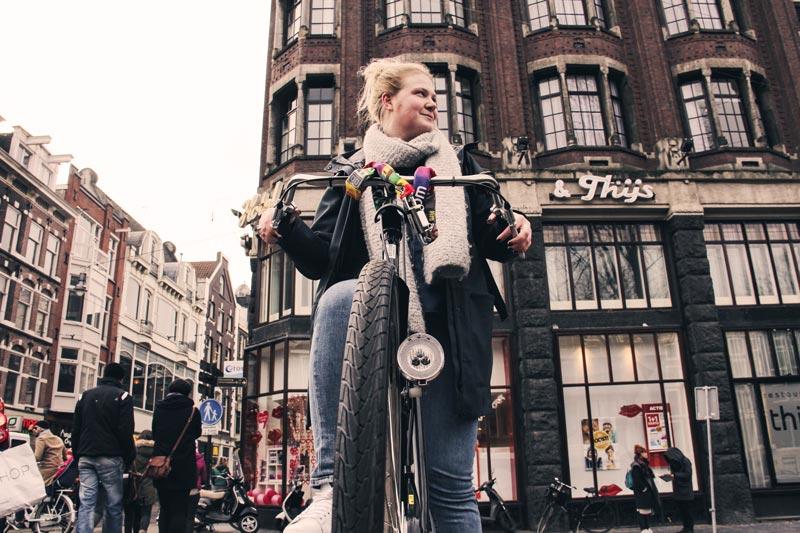 Aluguel de bicicletas em Amsterdam