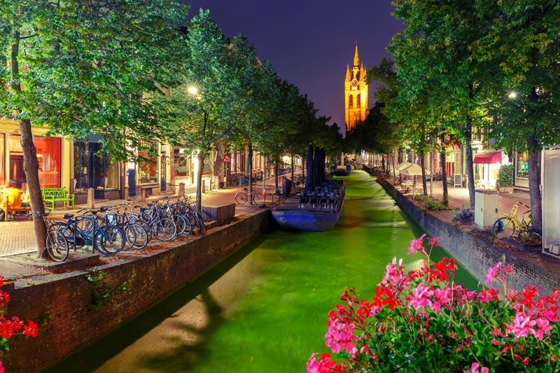 Roteiro a pé em Delft