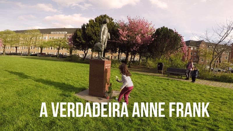 Verdadeira casa de Anne Frank - Vlog Ducs Amsterdam