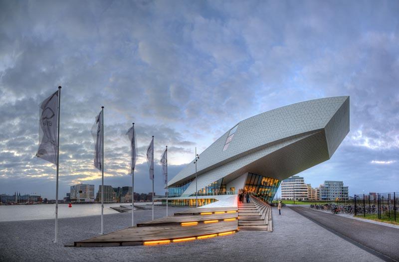 Dicas do quue fazer de graça em Amsterdam: visitar o Eye Film Museum