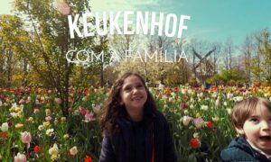 Passei um dia em Keukenhof com a família | Vlog Ducs Amsterdam #008