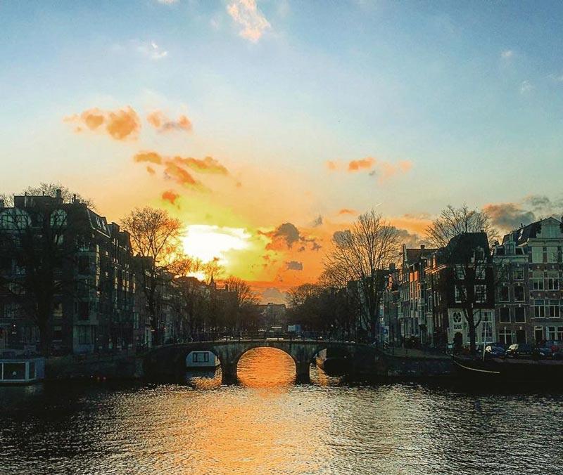 O verão em Amsterdam
