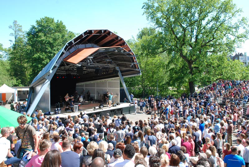 O que fazer em Amsterdam em junho: Vondelpark
