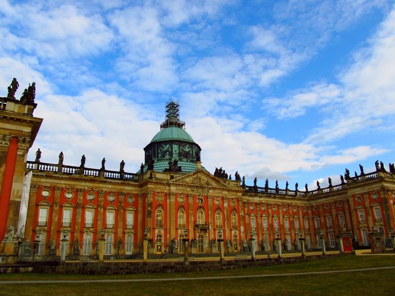 Neue Palais na Alemanha