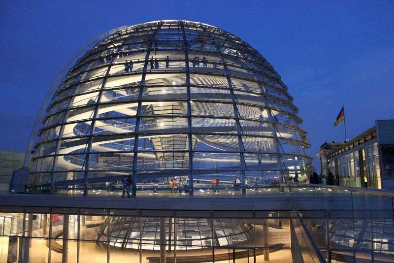 Cúpula do Parlamente Alemão