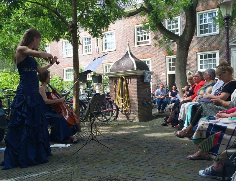 Festival de música em Amsterdam