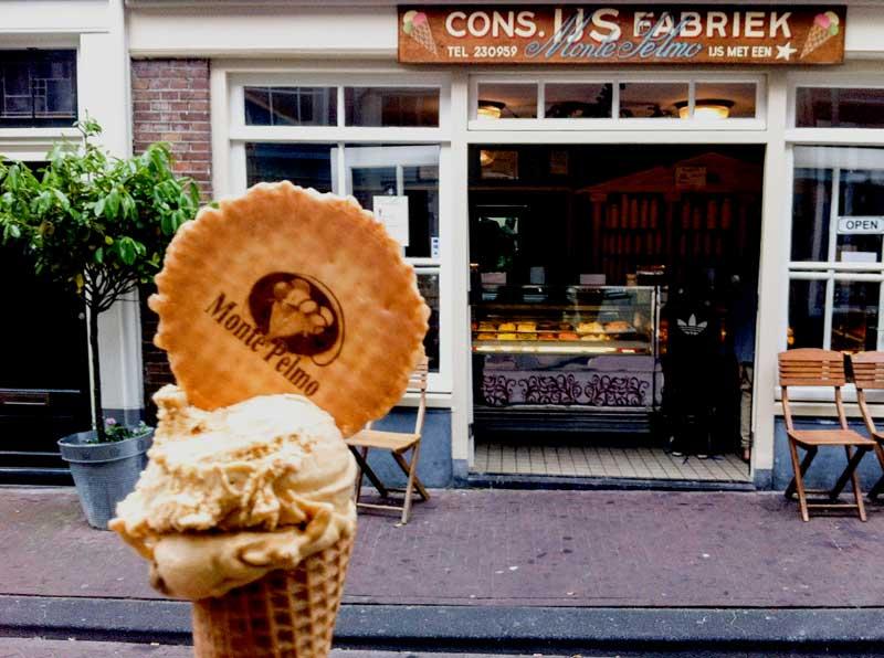 O verão em Amsterdam: sorvete