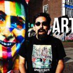 Como visitar o mural da Anne Frank feito pelo Kobra em Amsterdam | Vlog Ducs