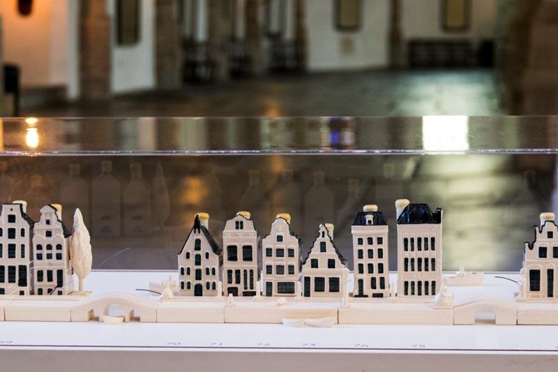 Casinhas miniatura da KLM